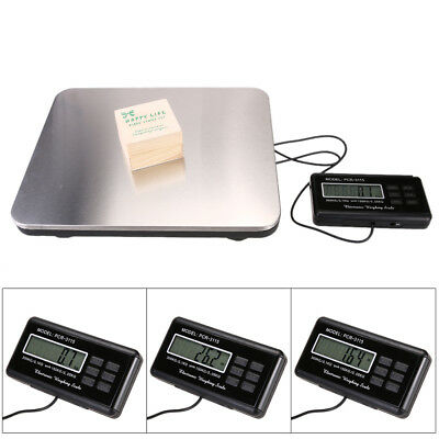 660lbs LCD Digital Floor Bench Scale Postal Platform Shipping Heavy Weight Tool