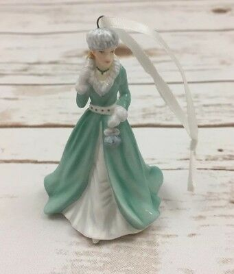 Royal Doulton Silver Bells Figurine Christmas Ornament Bone China 2014