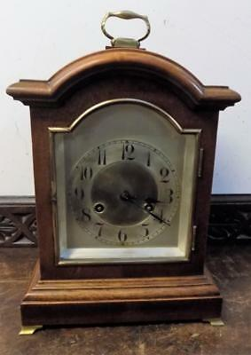 junghans mahogany striking bracket clock