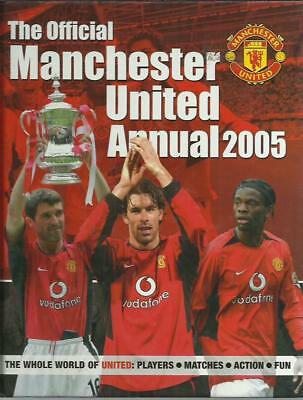The Official Manchester United Annual 2005