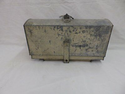 Antique Tin Metal Mail Box Old Vintage Post Office 190-18P