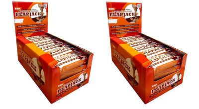 Premium High Protein Flapjack Bars Low Sugar Rolled Oats Bar Blueberry x 2 Boxes