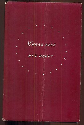 "1940 Musical Americana ""Where Else But Here?"" Booklet by Westinghouse Electric"