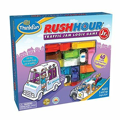 Rush Hour Junior Traffic Jam Logic Puzzle Game Think Fun