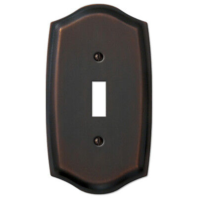 Switchplate Outlet Light Switch Wall Plates Sonoma Arch Aged Bronze Amerelle