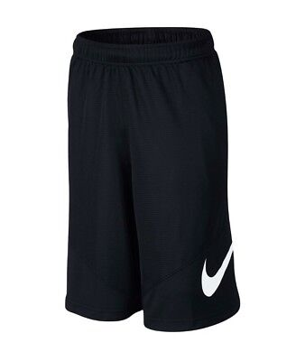 NWT Boy's Nike Dri-Fit HBR Shorts Black