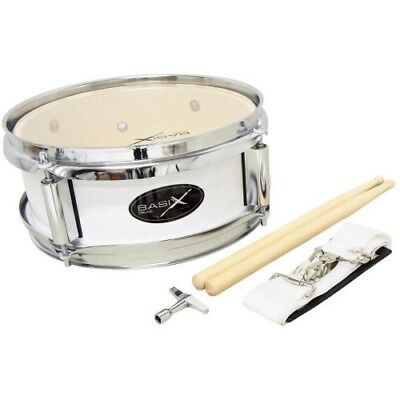 GewaPure Basix Junior Marching Drum 10x4 white | Neu