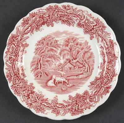 Booths BRITISH SCENERY PINK Bread & Butter Plate 37916