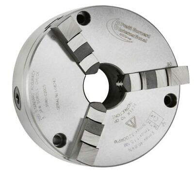 PRATT BURNERD 100mm 3 JAW CHUCK FRONT MOUNTING  HARRISON & COLCHESTER LATHES