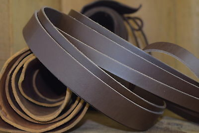 REPLACEMENT LEATHER STRAPS For BARCELONA CHAIR 3.5mm thick 70cm long Cow Hide