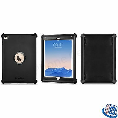 New OEM Otterbox Defender Series Black Shell Case for Apple iPad Air 2