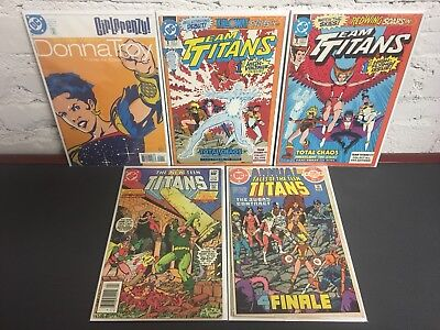 TEEN TITANS 5 Issues - Reader Copies: Judas Contract finale, Girlfrenzy + More!