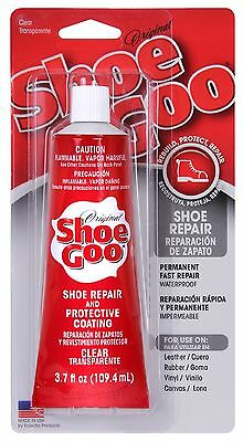 Shoe Goo Repair Adhesive 3.7 oz Rubber Leather Vinyl Sneaker, Boot & Shoes Glue
