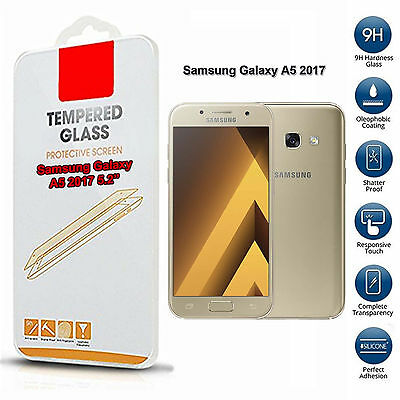 Samsung Galaxy A5 2017 Tempered Glass Screen Protector (Only For This Phone)