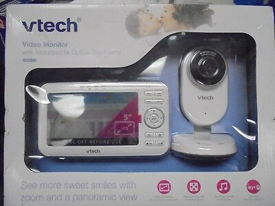 vtech Video Baby Monitor w/ Motorized 6x Optical Zoom Lens VM5271 BRAND NEW
