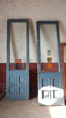 Antique Commercial Doors, Blue