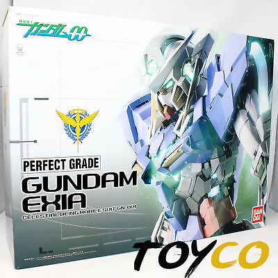 New US Bandai Mobile Suit Gundam Exia Kit Non LED PG 1/60 00 10th Anniversary