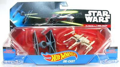 Mattel Hot Wheels Star Wars Starship TIE Fighter vs. X-Wing Vehicle 2-Pack