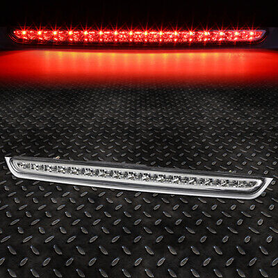 For 07-14 Suburban Tahoe Yukon Led Third 3Rd Tail Brake Light Stop Lamp Chrome