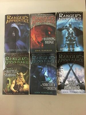 Lot Of 6 Ranger's Apprentice Series PB Books! #1-6 Set! John Flanagan