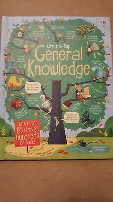 Usborne Lift-the-flap General Knowledge Book, Children's Nonfiction, 2015.