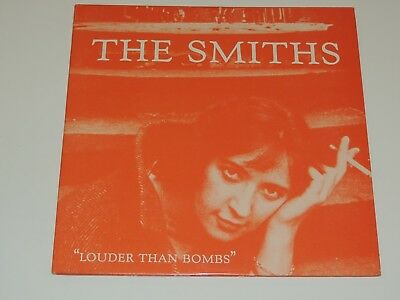 """THE SMITHS louder than bombs Lp 12""""x2 DOUBLE RECORD SET GATEFOLD MORRISSEY 1987"""