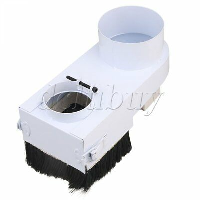 CNC Router Engraving Spindle Dust Shoe Cover Woodworking Cleaner 65mm