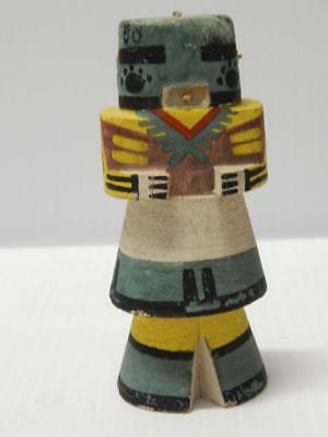 VINTAGE 1950s HOPI PUEBLO INDIAN HIGHWAY ROUTE 66 KACHINA DOLL -  NR !