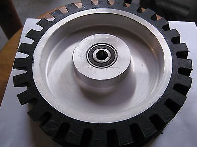 "2""x72"" Belt Sander/Grinder Rubber Contact Wheel, 8"" Knife Making Contact Wheel"