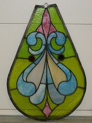 Antique Sun Catcher Stained glass window Church Relic Beaver falls PA