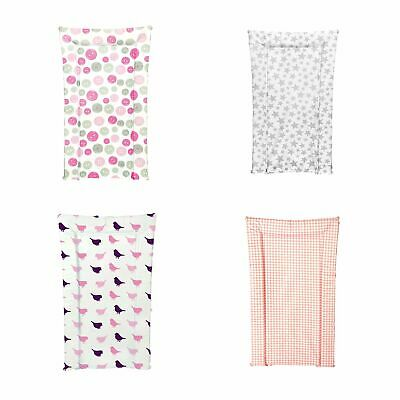 Kit For Kids Baby / Child Wipe Clean Nappy Changing Mat - Pink Buttons Small
