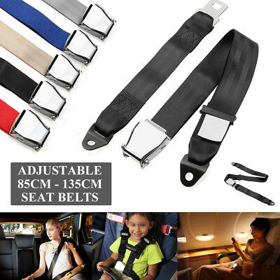 Adjustable Airplane Seat Safe Belt Plane Seatbelt Extender Aerospace Seat Belts
