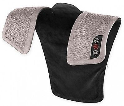 NEW Neck and Shoulder Massager with Heat Pro Vibration Massage Therapy HoMedics