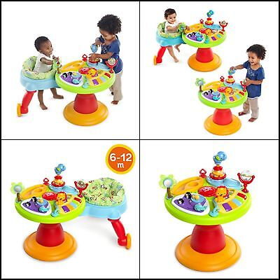 Bright Starts Around We Go 3 In 1 Activity Center Zippity Zoo - FREE SHIPPING