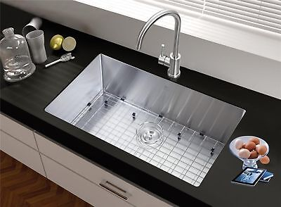 Starstar 32 X 21 Single Bowl Undermount Kitchen Sink 304 Stainless Steel New