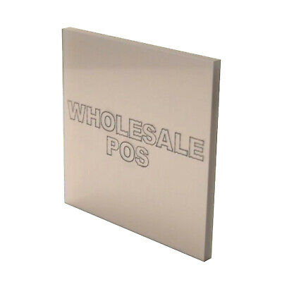Metallic Silver Sheet Cast Acrylic Perspex MT9870 Ideal metal substitute 3mm 5mm