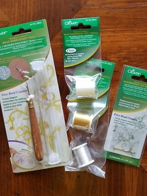 Clover Bead Embroidery Holiday Gift Set
