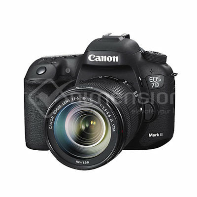 Canon EOS 7D Mark II DSLR Body with 18-135mm IS Len Kit Ship from US