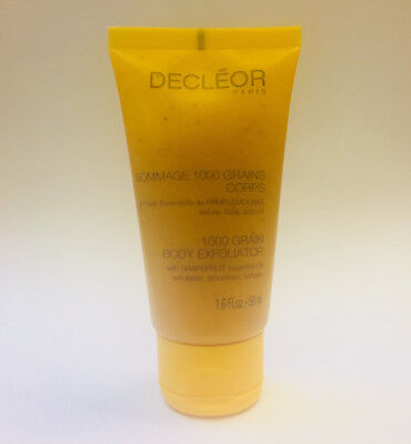 Decleor 1000 Grain Body Exfoliator 50ml Travel Size NEW