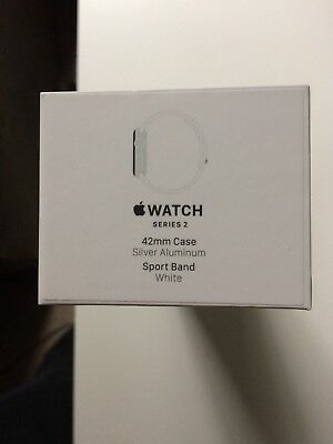 Apple Watch Series 2 42mm Space Gray Aluminum Empty Box Only NO WATCH