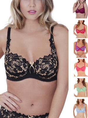 917f6c6399 Lepel Fiore Full Cup Bra 93229 Sexy Underwired   Non Padded Lace Lingerie