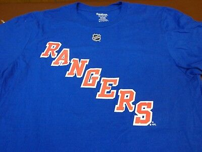 REEBOK NEW YORK RANGERS BRAD RICHARDS  19 JERSEY STYLE T-SHIRT-Medium V5 551e8b9e7