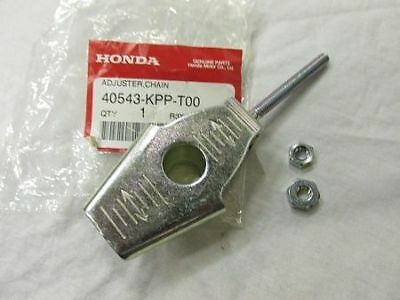 Genuine Honda Cbr125 2011-2016 Chain Adjuster With Nuts (40543-Kpp-T00 )
