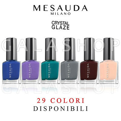 Mesauda Crystal Glaze Smalto Effetto Vetro 11Ml Smalti Glass Effect Nails Unghie