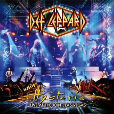 DEF LEPPARD-VIVA! HYSTERIA- 2 CD Free Shipping with Tracking# New from Japan