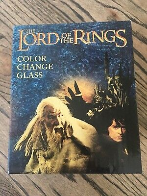 THE LORD OF THE RINGS Color Changing Glass Loot Crate August 2017 KINGDOM NEW!