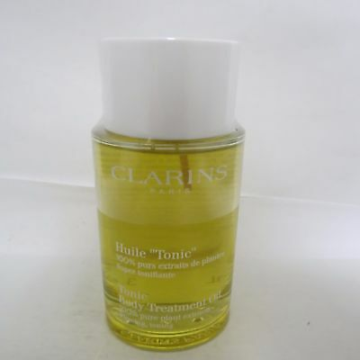 Clarins Tonic Body Treatment Oil, Firming, Toning 100ML/3.4oz NEW SEALED