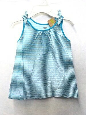 """Girl/'s Size 4T Crazy 8 Salmon /""""Love/"""" Racer Back Tank New Nwt #8637"""