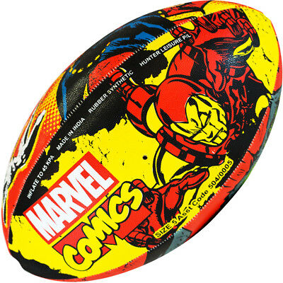 Marvel Characters Novelty Kids Mini and Youth Rugby Balls