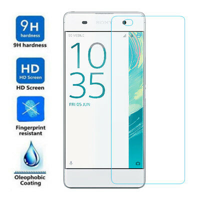 9H Premium Real Tempered Glass Screen Protector Film Guard Cover For Sony Xperia